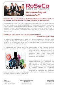 thumbnail of Einladung und Anmeldung zum Sales-Training der RoSeCo Mai 2018